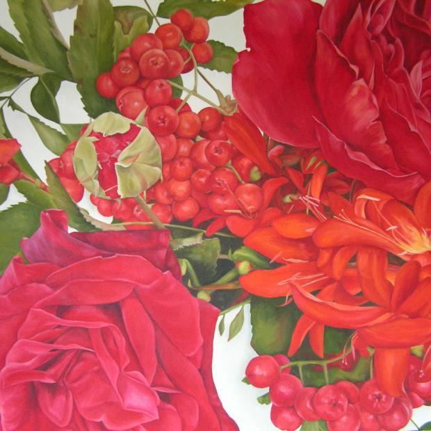 Roses and Rowan Berries